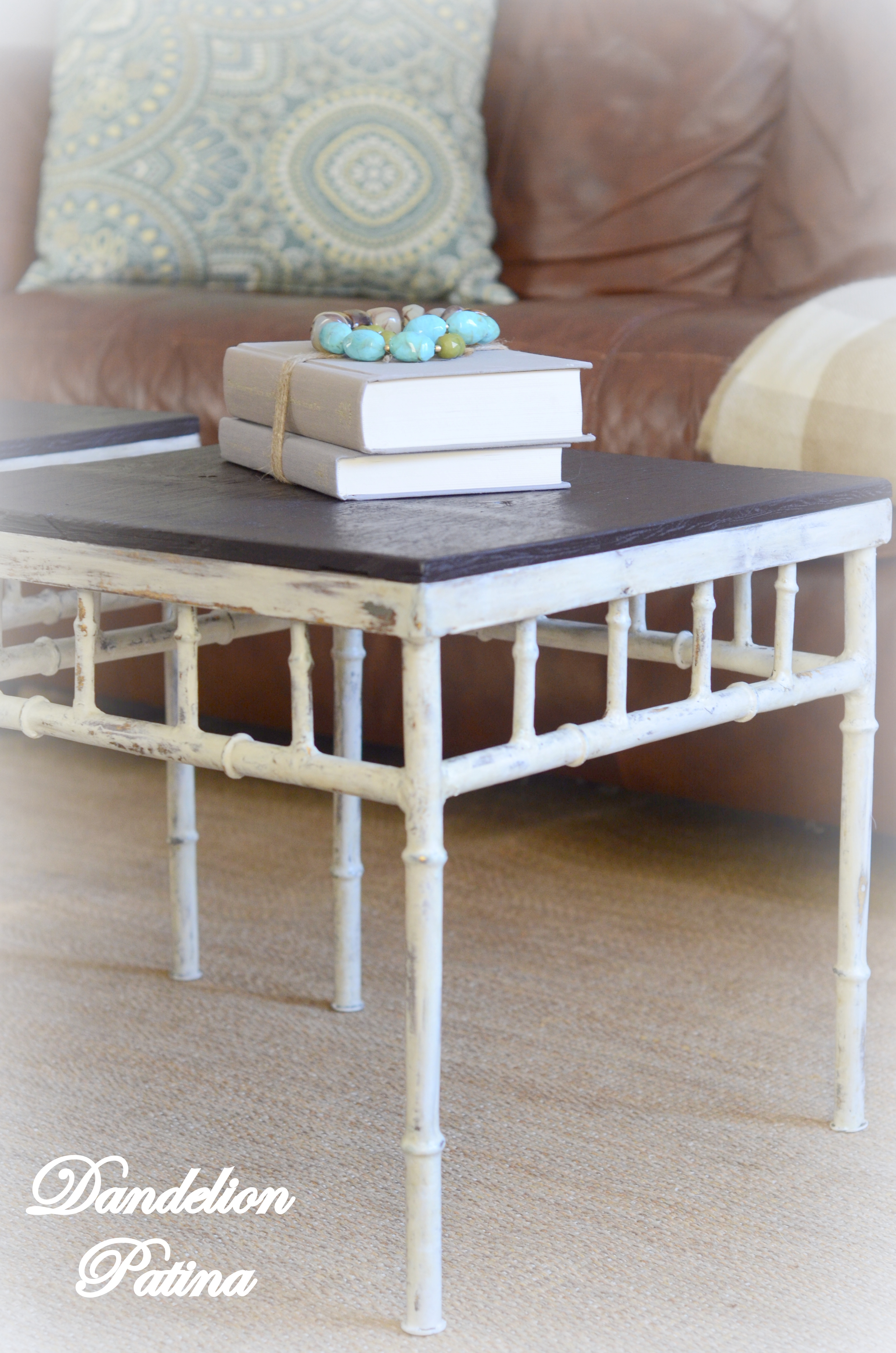 Wood & Metal Accent Tables