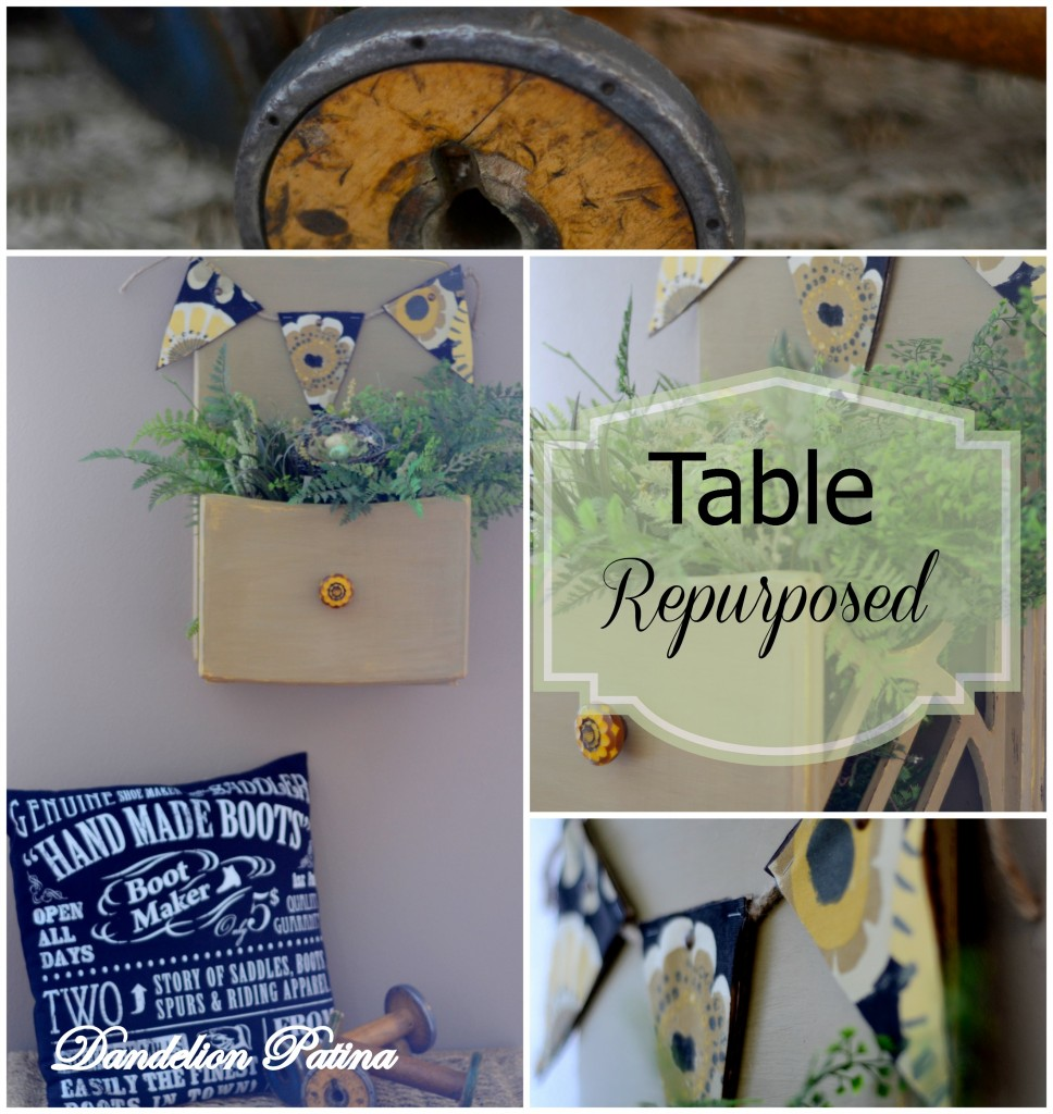table repurposed