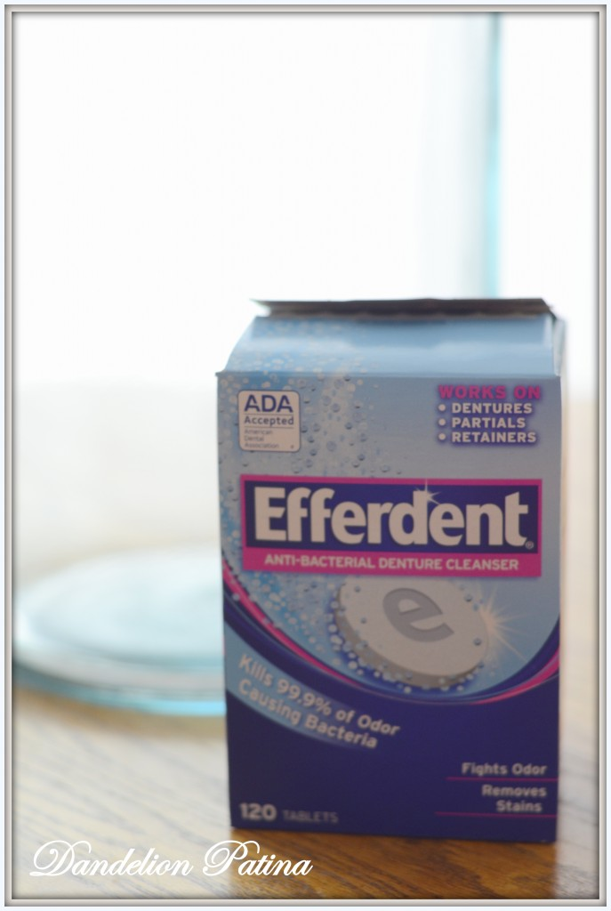 efferdent cleaner