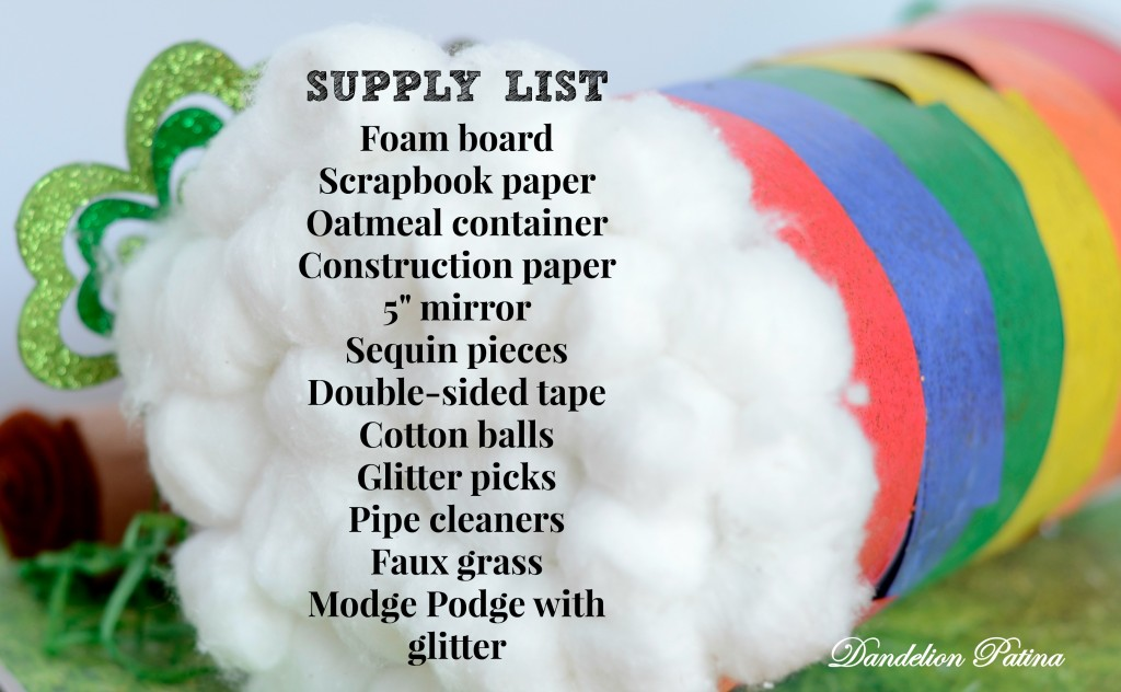 leprechaun trap supply list
