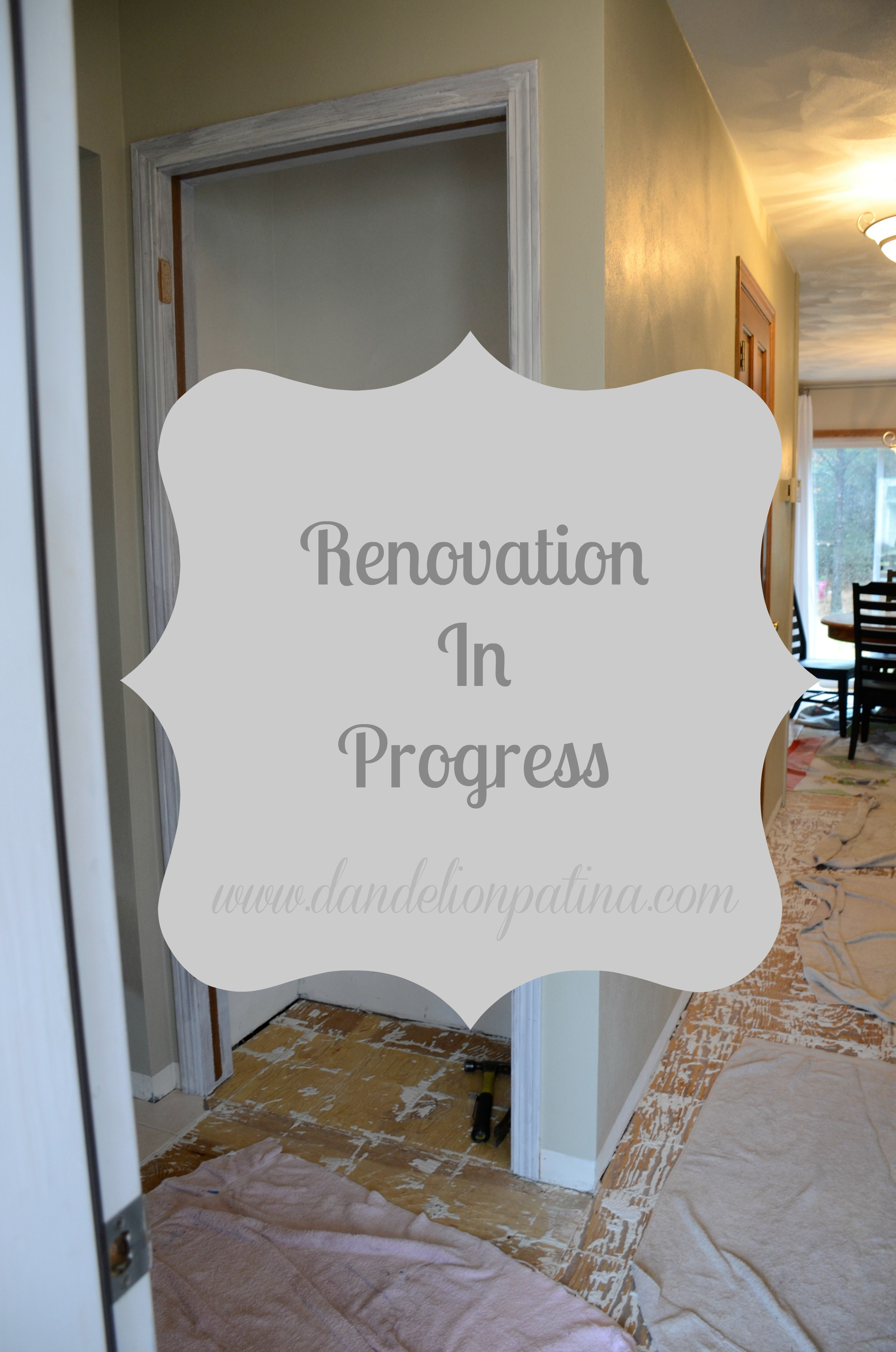 renovation in progress