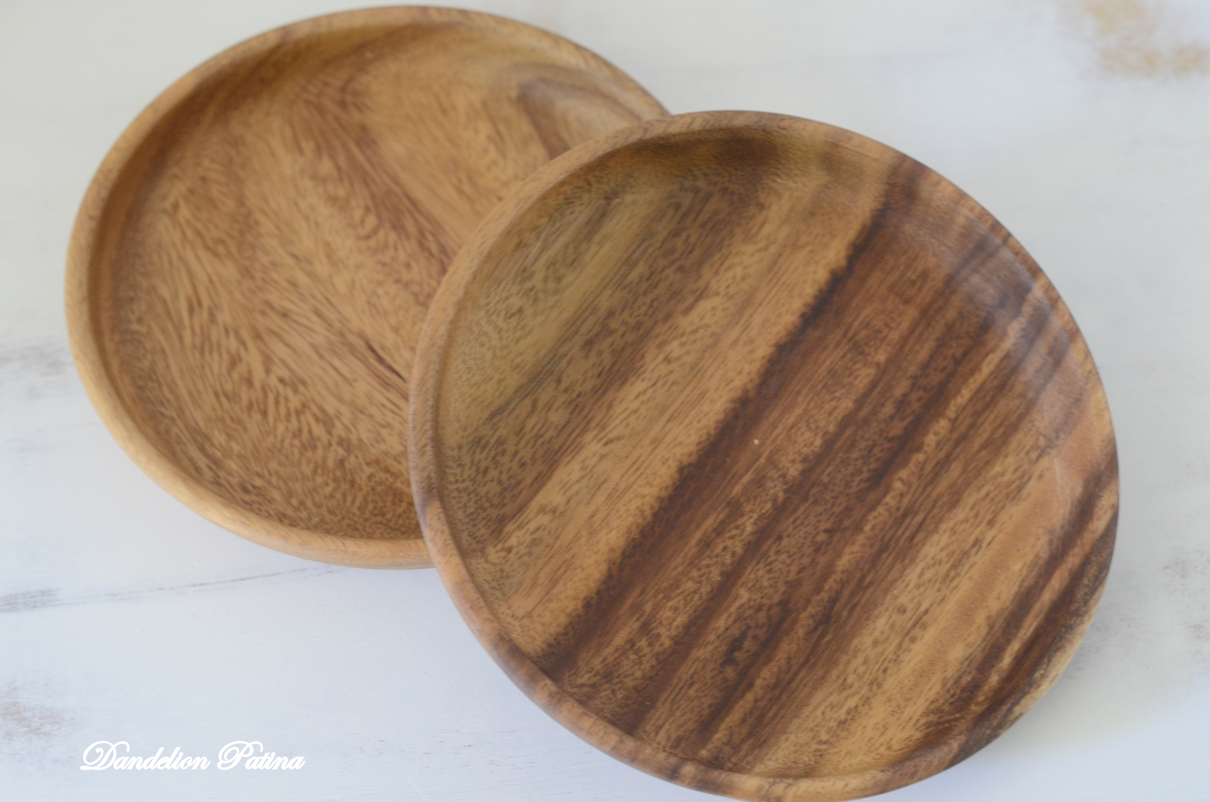 crate and barrel Tondo plates