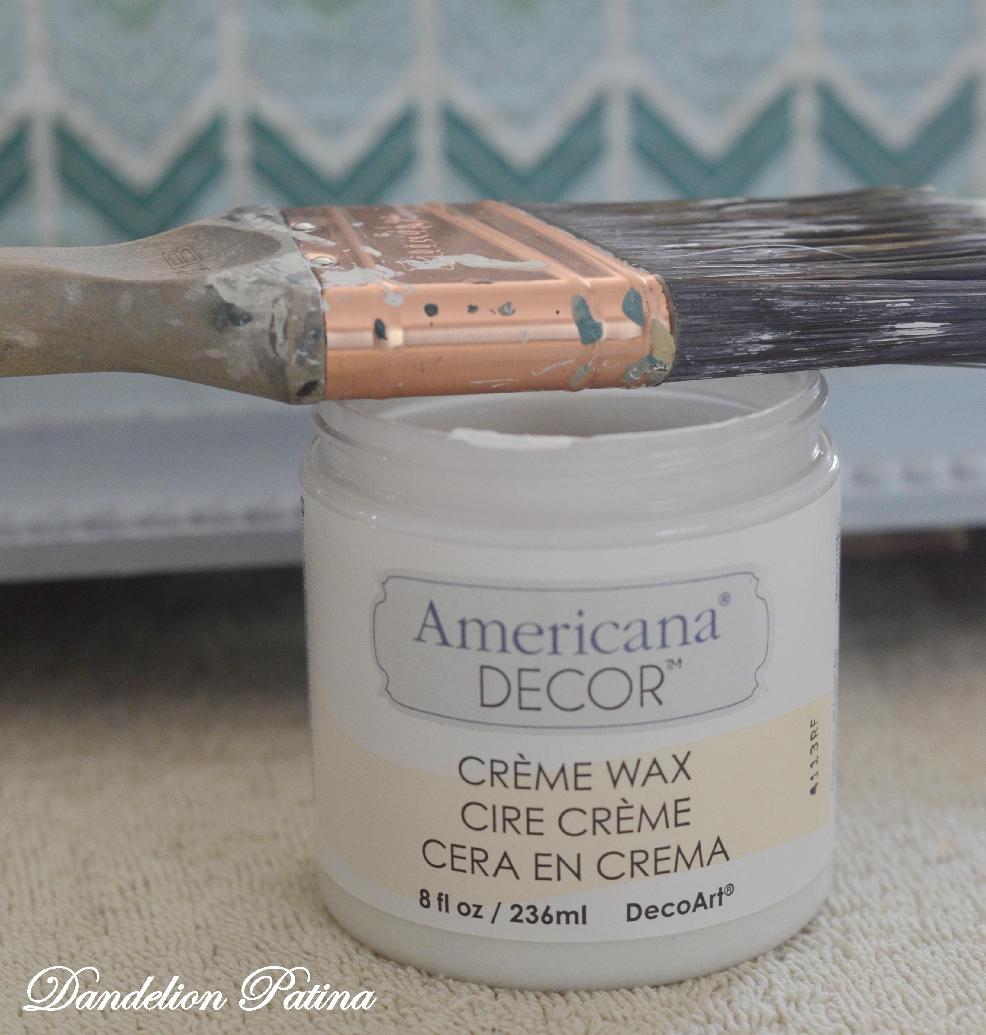 americana creme wax