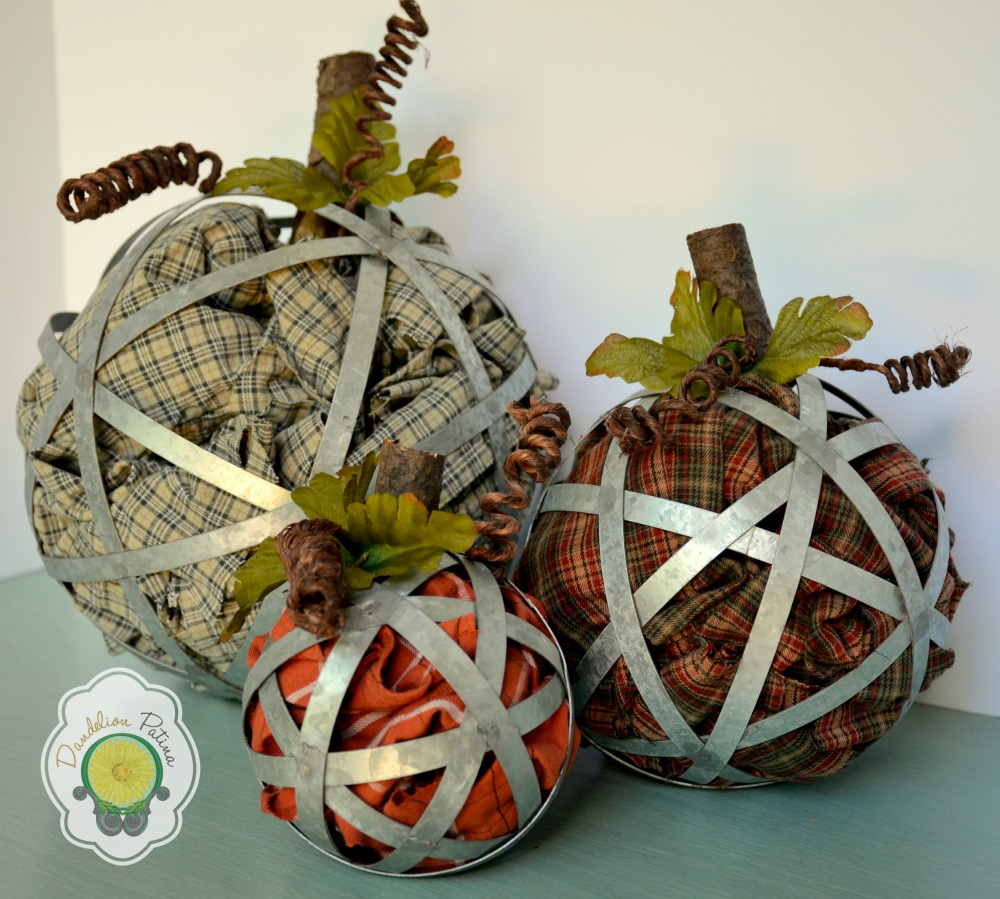industrial pumpkins by dandelion patina