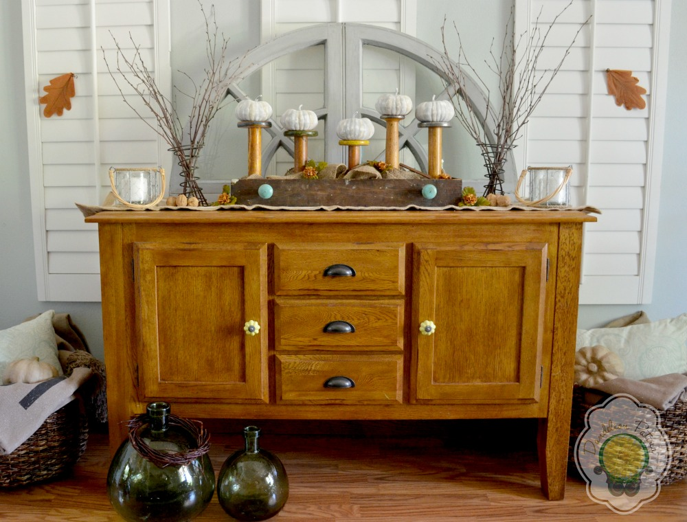 simply fall console table