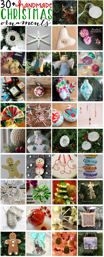 handmade Christmas Ornament Blog Hop