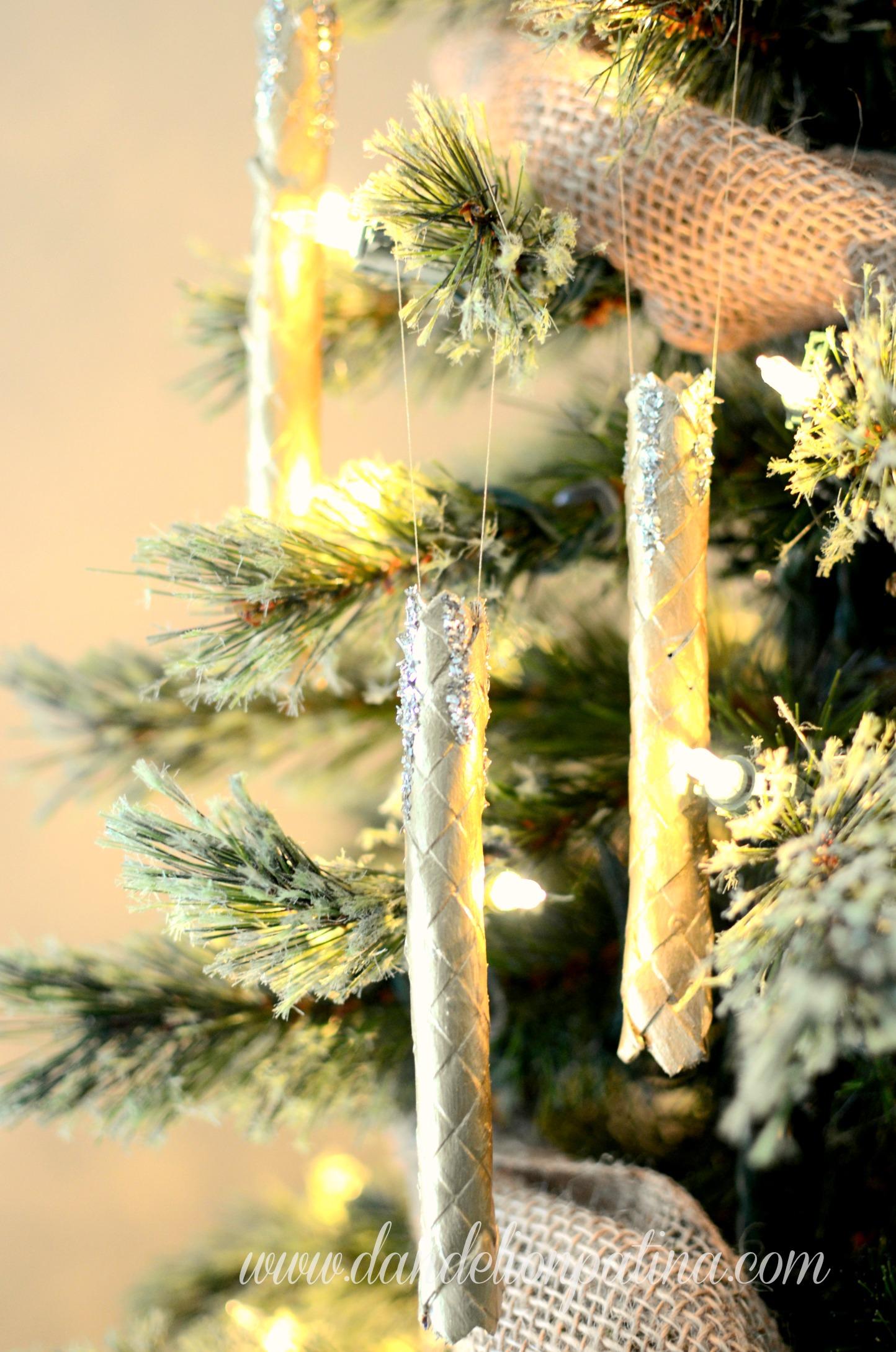 Basket Weaving Ornaments : Gold basketweave ornament dandelion patina