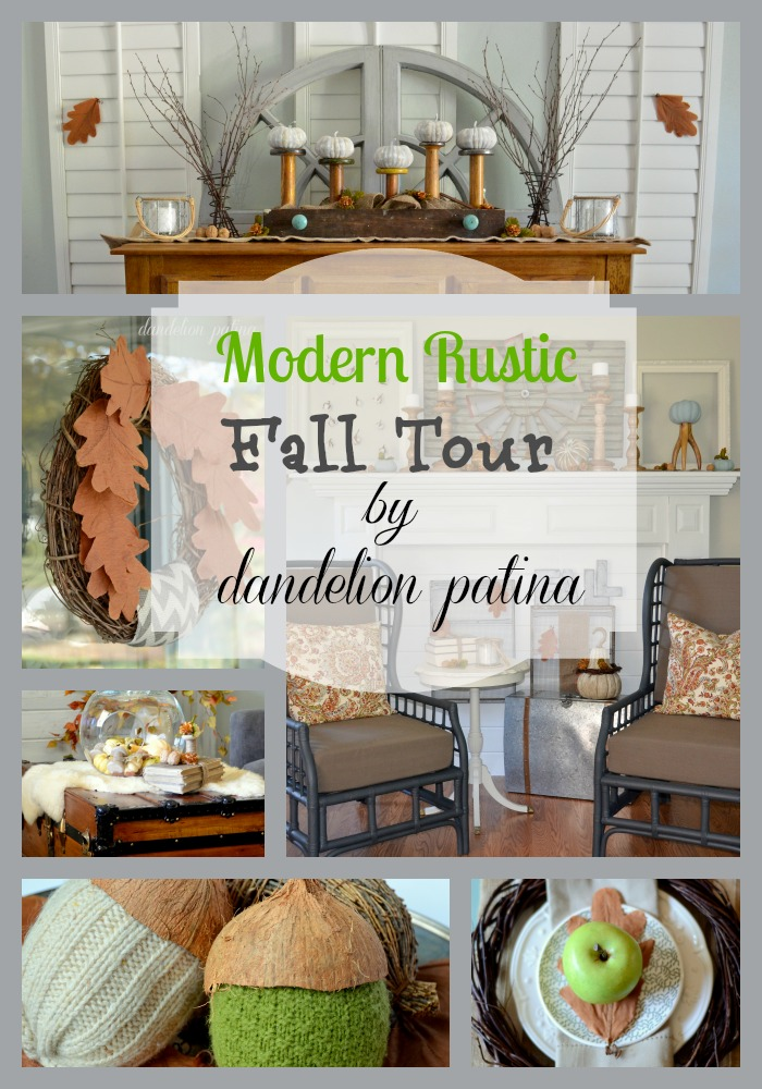 modern rustic fall tour by dandelion patina