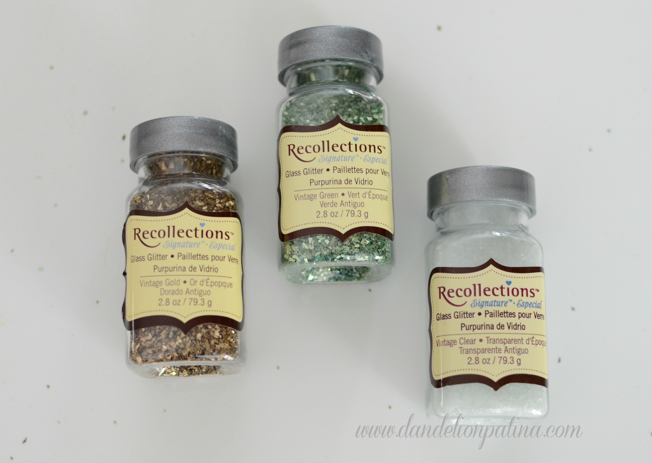 glass glitter by Recollections