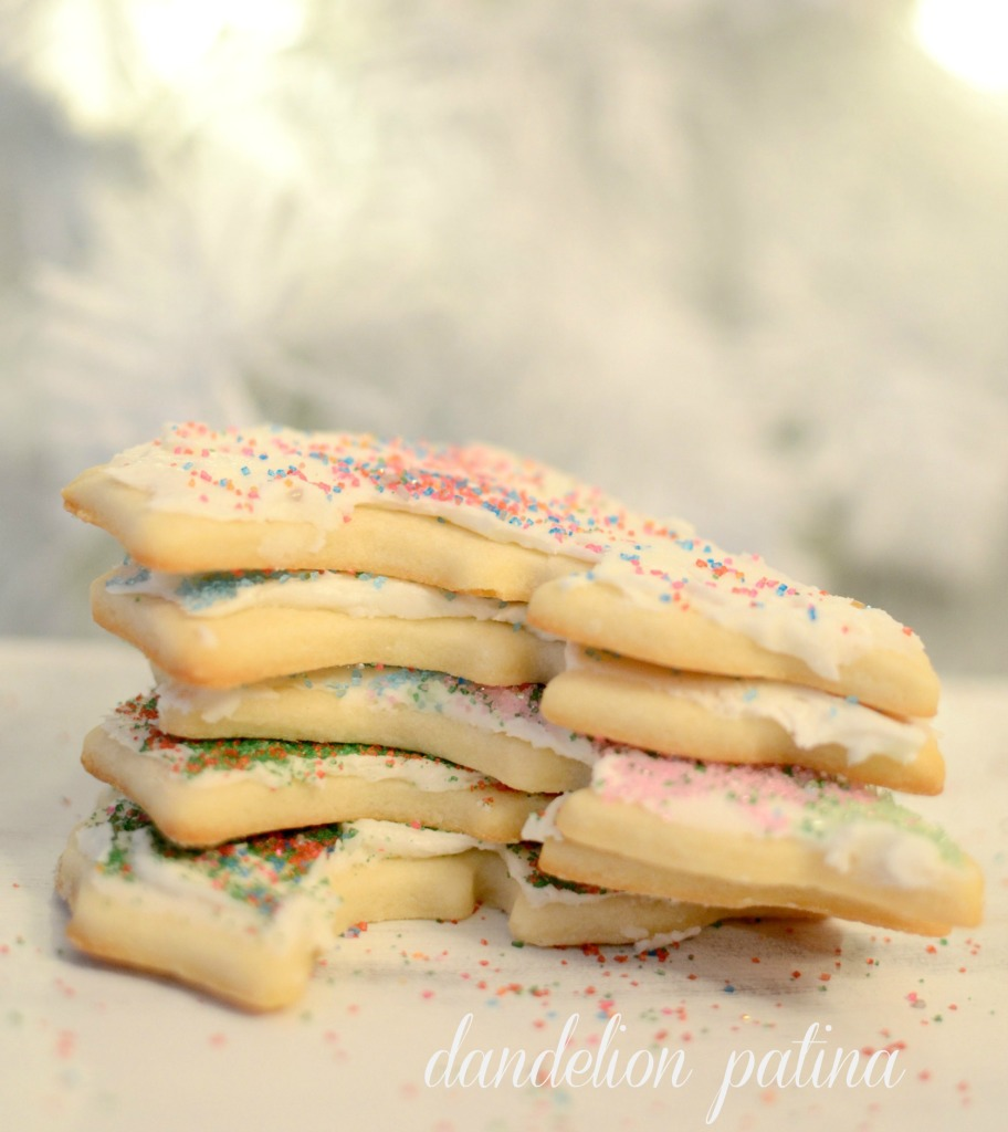 christmas sugar cookies with frosting