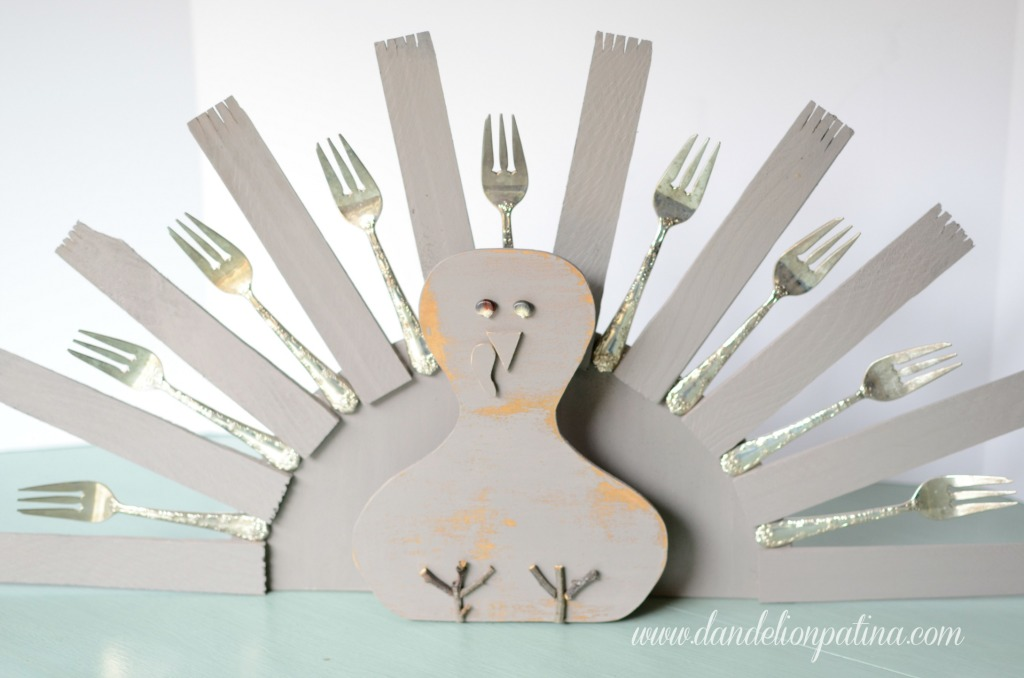 thankful tree turkey style
