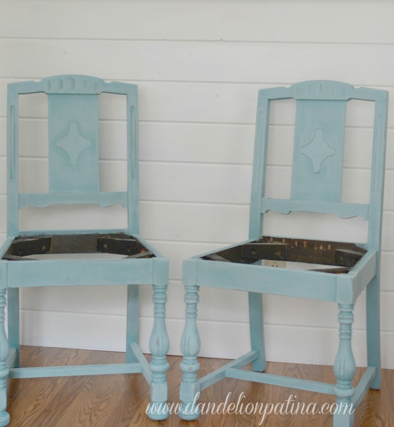 Provence wooden chairs