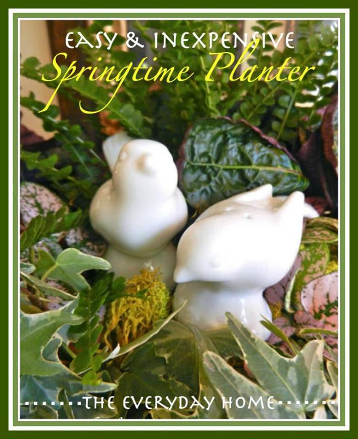 easy spring planter