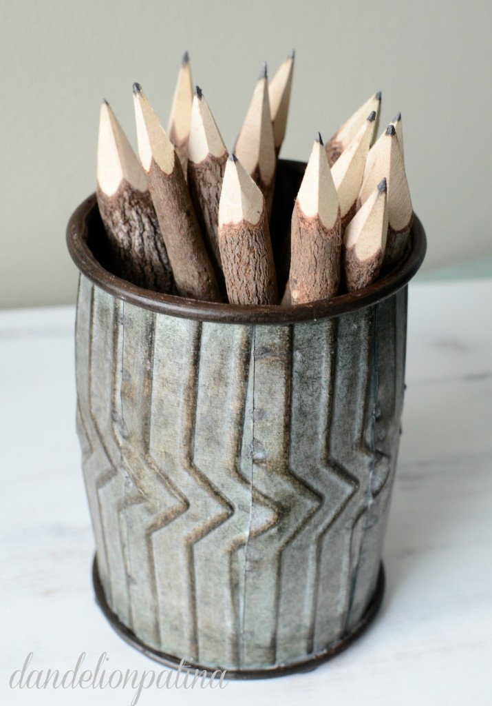 mini ginnie pencil cup