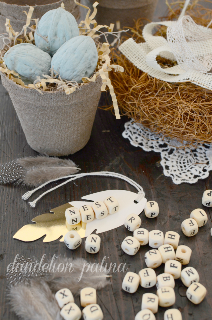 bird nest housewarming gift