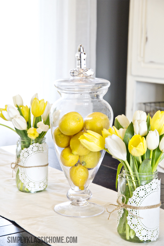 easy spring centerpiece ideas