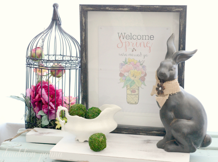 free printable welcome spring