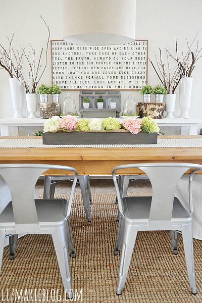 spring dining room liz marie