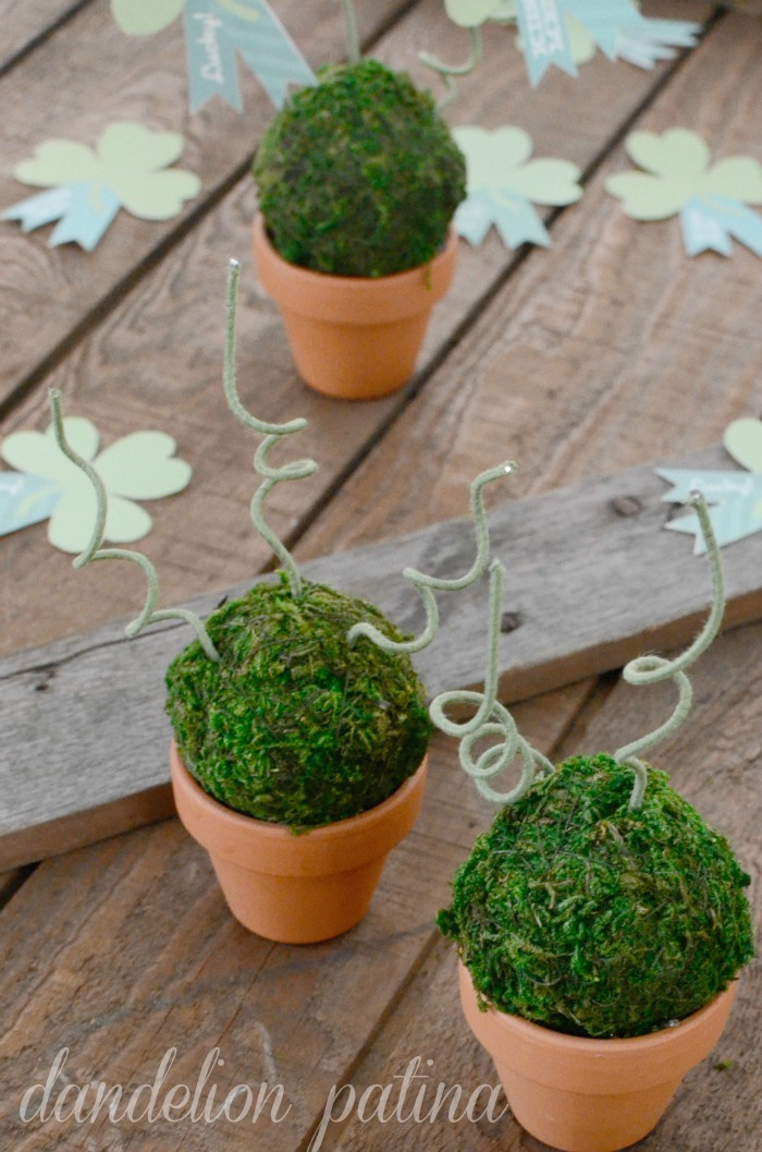 shamrock topiaries tutorial