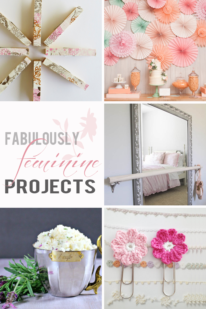 Pink Crafts that give a feminine touch to home decor