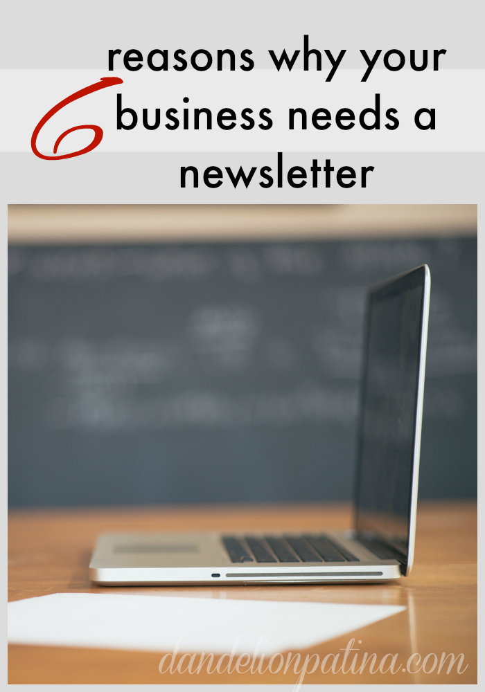 6 reasons why your business needs a newsletter and Inbox of Opportunity ecourse