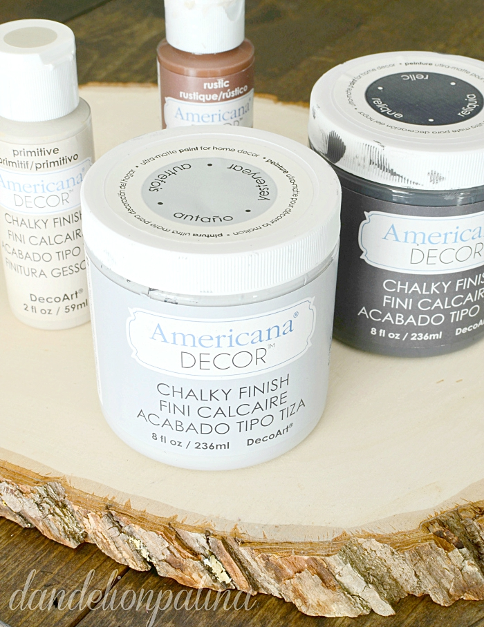 decoart chalky finish paint