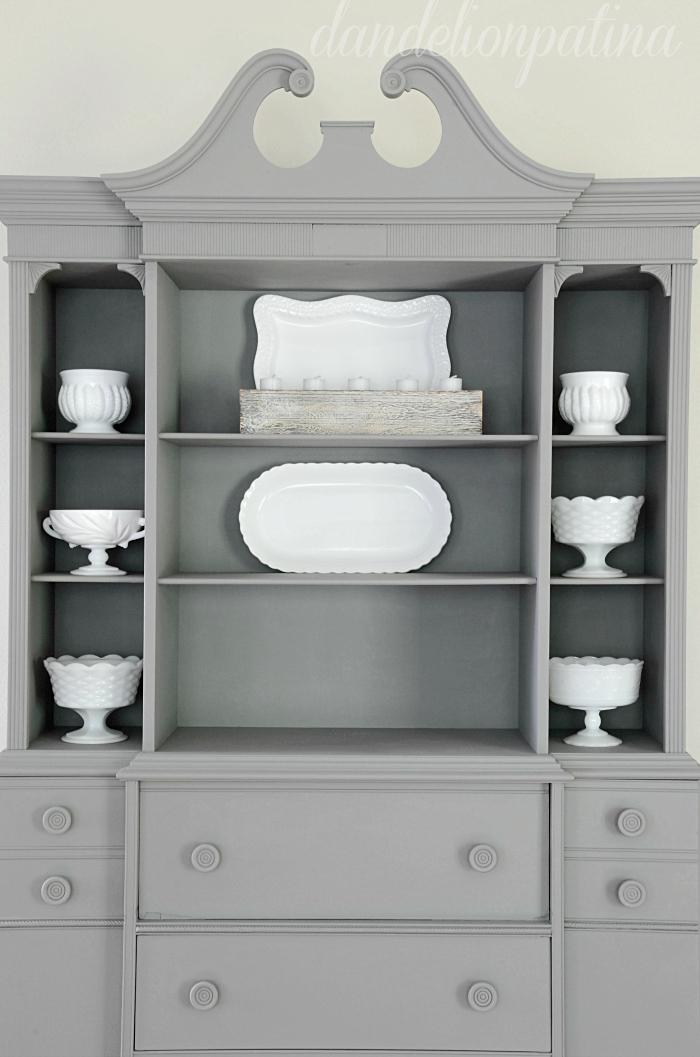 styling shelves like a pro