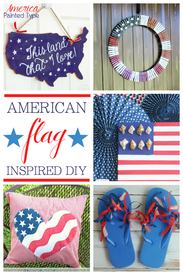 American Flag Inspired DIY projects