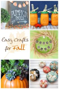 easy crafts for fall