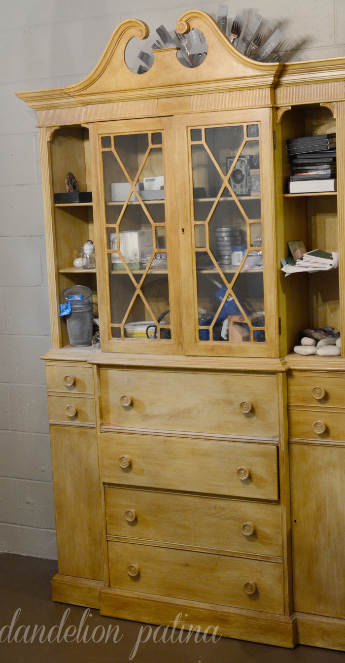 country chic cobblestone hutch