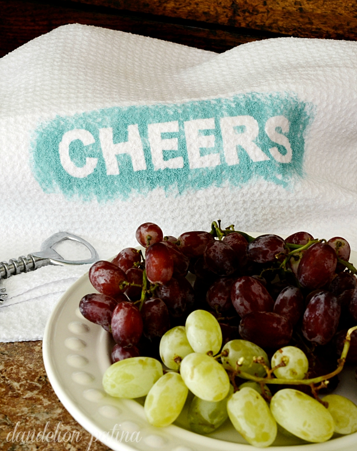 cheers dish towels