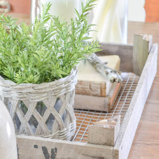 decorate with dutch tulip tray