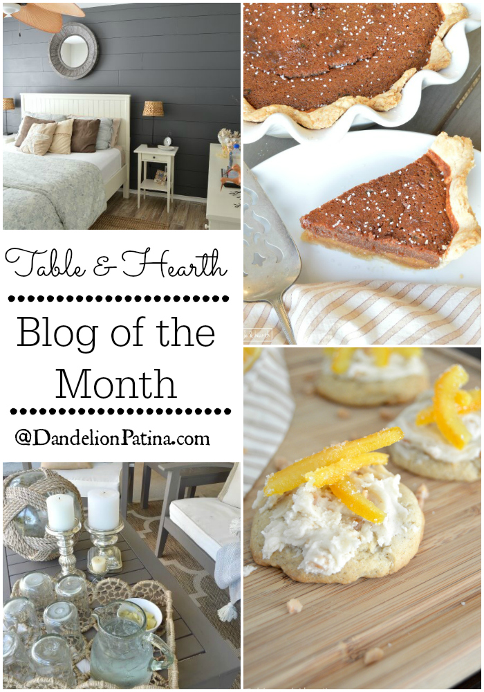 blog of the month table & hearth