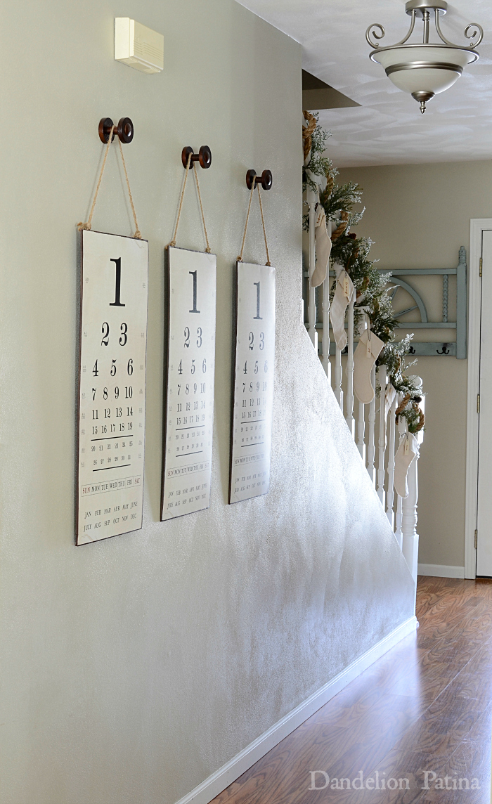 cottage style with industrial flair eye chart wall art via dandelionpatina.com #industrial