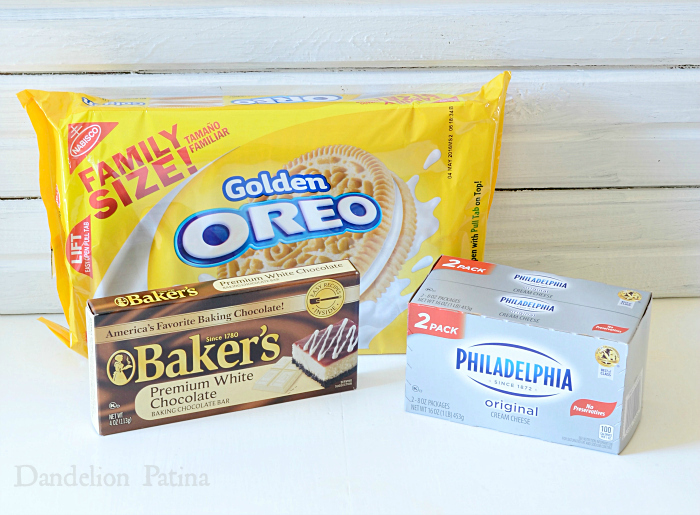 OREO cookie ball ingredients