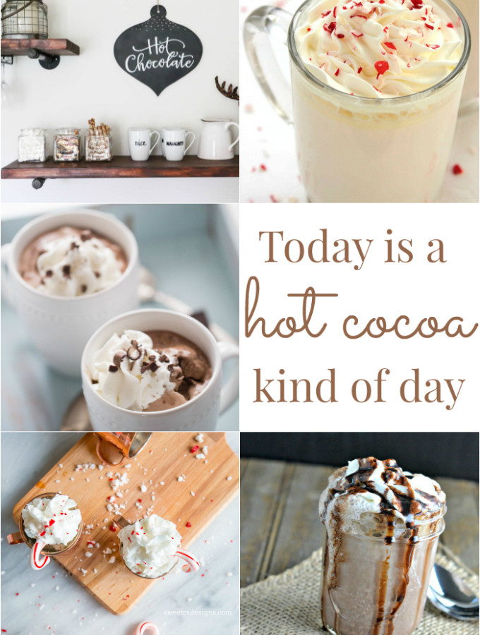 Today is a hot cocoa kind of day! 5 ways to stay cozy this season with hot cocoa. via dandelionpatina.com