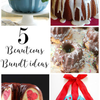 5 beauteous bundt ideas found on dandelionpatina.com via the moonlight and mason jars link party