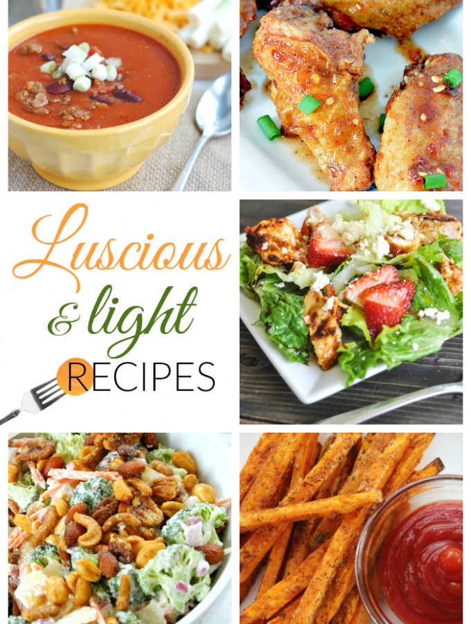 luscious and light recipes
