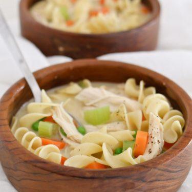Super Soups creamy chicken noodle