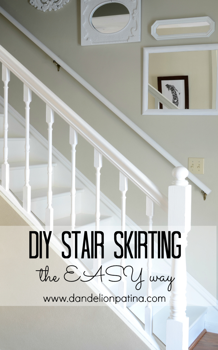 Stair skirting the easy way