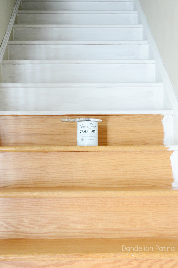 Easy DIY stair skirting