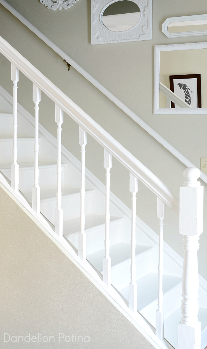Stair skirting DIY