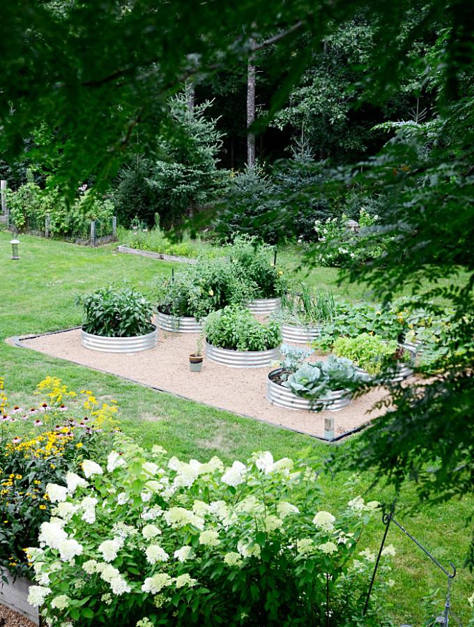 simple raised garden beds