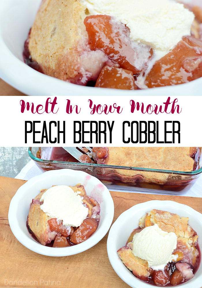 peach berry cobbler recipe