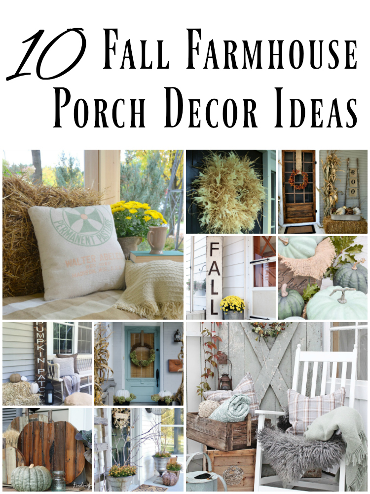 10 Fall Farmhouse Porch Decor Ideas