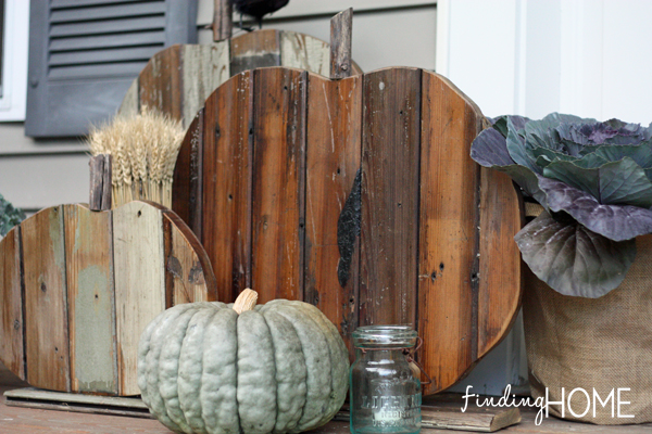 Finding home farms reclaimed wood pumpkins