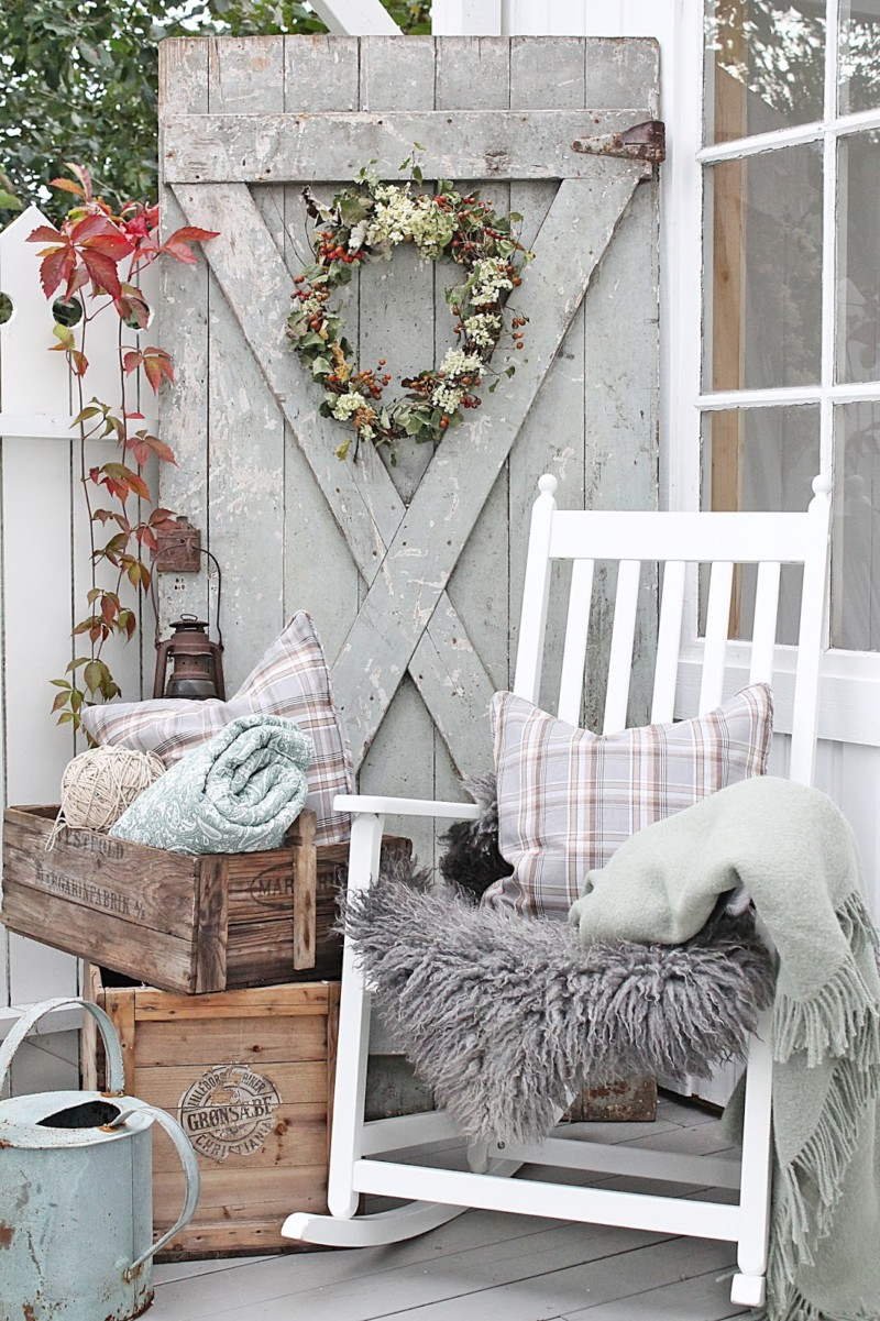 Vibeke Fall Vignette Front Porch