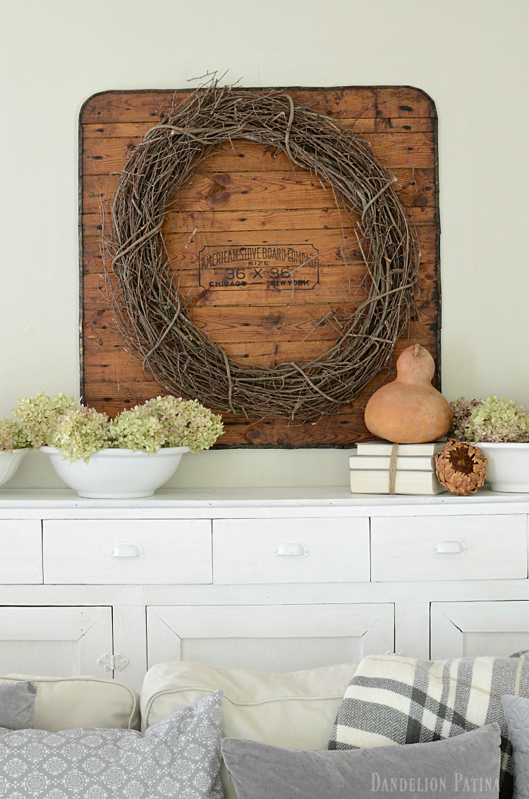 farmhouse fall home tour neutral decor and natural elements