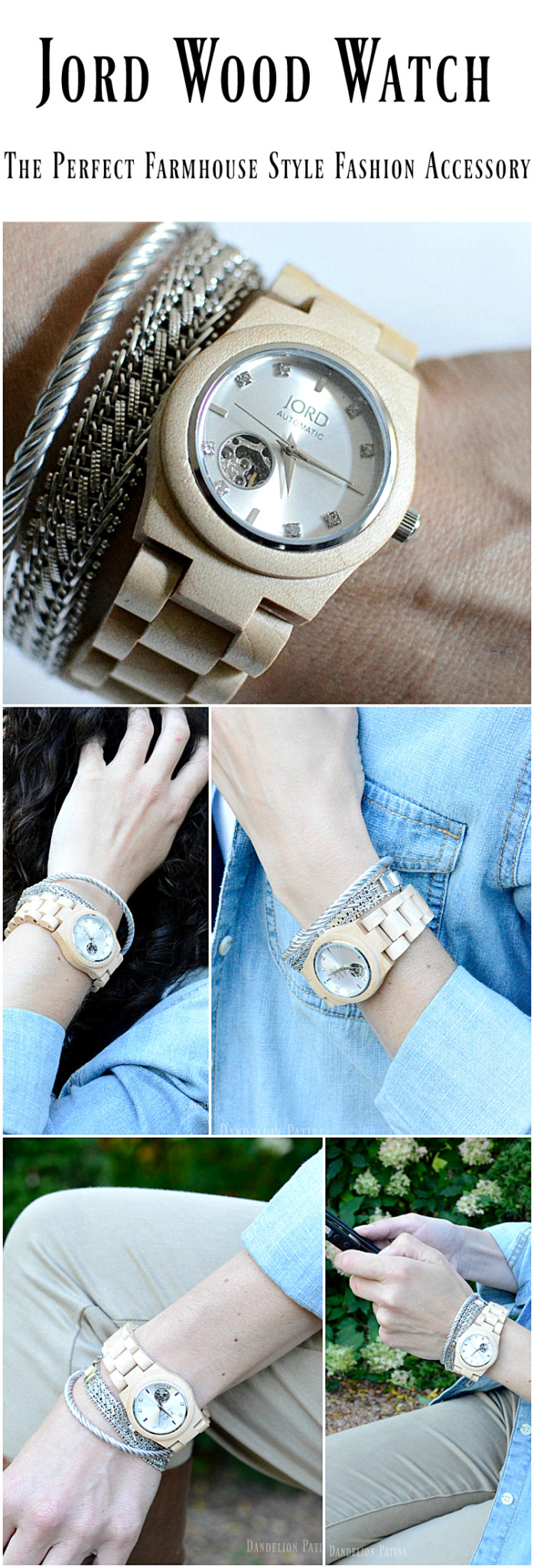 Jord wood watch perfect farmhouse style fashion accessory