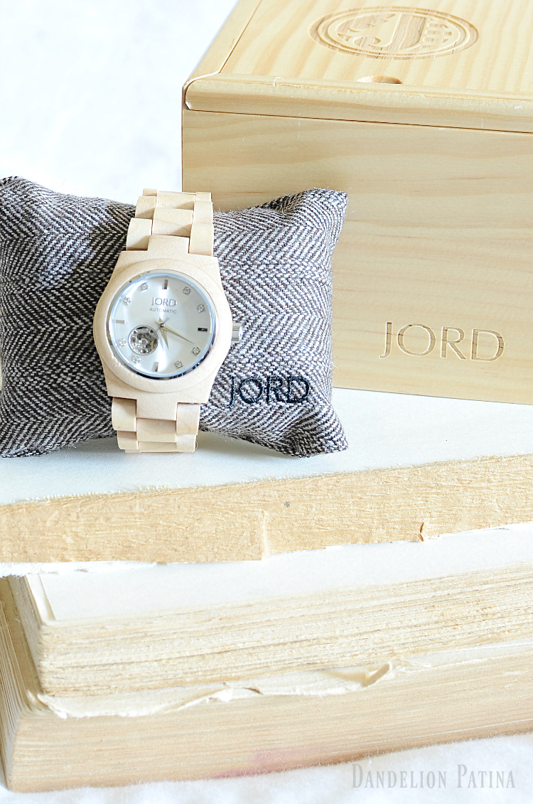 Jord wood watch Cora series